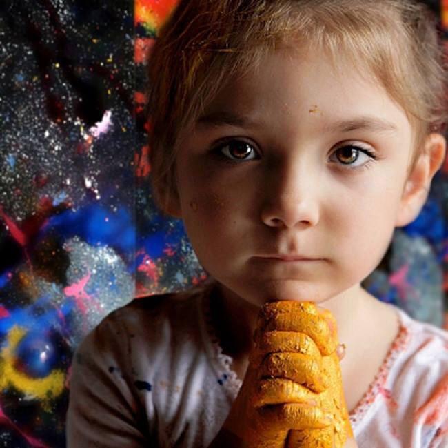 A Criança e os Fantasmas Infantil.